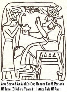 2 - Anu as Alalu's cup-bearer, Hittite Tale