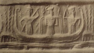 5 - Enki lived in the abzu marshes of Eridu