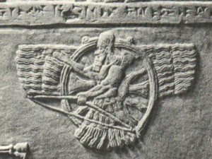 3b - Ashur the god of Assyria