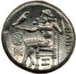 11a -  Zeus in flying chariot, Enlil, named Zeus, was well known & well worshipped in Ancient Greece