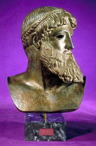 13 - Greek god, Zeus - Enlil, leader of alien colony Earth, well known & worshipped throughout the world & Ancient Greece