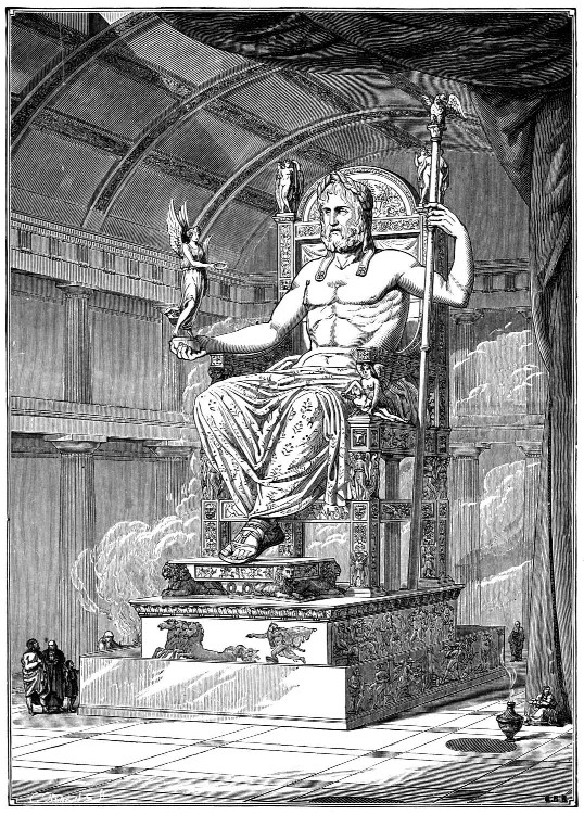 13a - Greek god Zeus - Enlil, the main god of gods in Ancient Greece as well as Mesopotamia