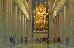 13b- Zeus - Olympia, Greece - 450 B.C., Enlil the giant alien heir of Anu's, for kingship on Nibiru & Earth Colony is his alone - well known as Zeus in Ancient Greece