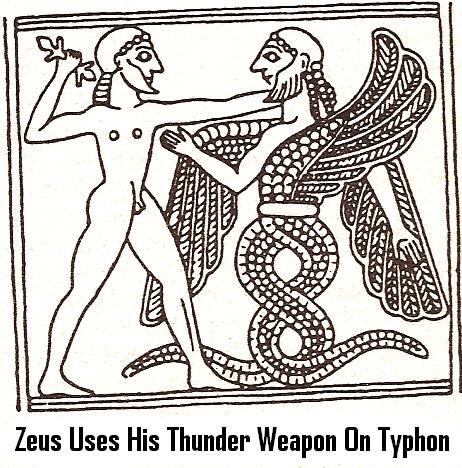 13d - Zeus & his thunder weapon, alien weapons dominated everyone & everything
