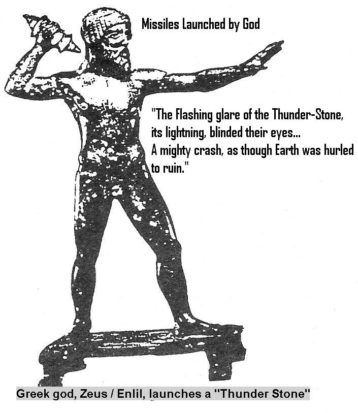 13e - Zeus - Enlil Launches a Thunder Stone, alien weapons were devastating to mankind & Earth alike