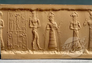 2f - early mixed-breed made king, Enki, Isumud, & the mother to many mixed-breed kings, Ninsun, the goddess spouse to giant mixed-breed Lugalbanda, who was king of Uruk for 1,200 years, SEE SUMERIAN KINGS LIST ON ENKI'S PAGE UNDER ERIDU