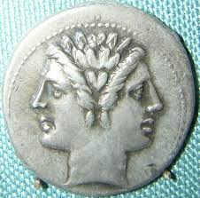 3a - Roman god Janus - Isumud, Enki's vizier, the month of January was named by the Romans after their god named Janus, the Mesopotamian god looking forwards & backwards at the same time