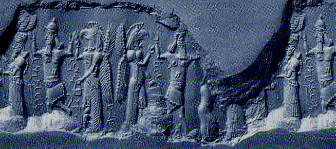 4a - Enlil, Ninurta, & Apkulla, Babylonian artefact of the gods colonizing the Earth, artefacts of the gods are shamefully being destroyed by Radical Islam, attempting to eliminate ancient evidence that directly contradicts the 7th century doctrines of Islam
