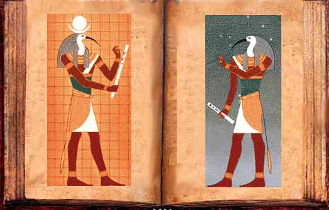 6g - Thoth is the author of the Egyptian Book of Thoth, many texts & books were actually written by the giant alien gods before earthlings were taught to read or write, as in the Middle Ages when the people couldn't read or write, the images carved & painted told the story along with the texts, a time in our past when the giant alien gods came down from Heaven, walked with & talked with earthlings