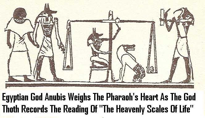 7a - Thoth & Anubis, the giant alien gods who came down from Heaven - planet Nibiru, ruled over ancient mixed-breed kings & pharaohs, who passed down the gods commands to the earthlings below, a perfect go-between for the giant alien gods & earthlings, it was in Egypt that earthlings learned of an after-life, the gods returning the stars