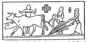 7b - farming in Enlil's Eden, modern man is put to the plow in the Eden, instructed by Enlil's family, & others to work the gold mines, etc. in South Africa, instructed by Enki's family