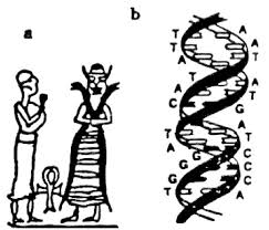 1 - DNA symbol of Ningishzidda is drawn in many ways, & can be found when one looks closely