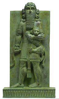 1 -  Gilgamesh, the mixed-breed son to Ninsun & Lugalbanda, 5th king of Uruk, 2/3rd divine, when the gods walked, talked worked, had sex, etc, with earthlings