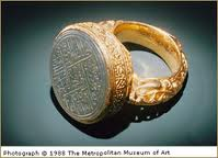 10 - Kish royal ring of a king, his seal, Kish artefact of lost ancient history, artefacts like these are being destroyed by Islamic Radicals, trying to wipe out any & all history that contradicts the message of their prophet