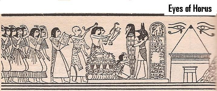10 - Horus directs the funeral ceremony for the newly deceased pharaoh, artefacts of the gods & their giant mixed-breed pharaohs are being criminally, shamefully, foolishly, destroyed by Radical Islam, attempting to eliminate any ancient evidence that directly contradicts the 7th century A.D. teachings of Islam