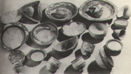 10 - pottery from Eridu, 4,000 + B.C., artefacts of Ancient Mesopotamia are being destroyed by Radical Islam, in an attempt to erase all historical evidence that contradicts the words of their prophet, trying to keep the world from knowing our true history, when man 1st walked & talked with, & later had sex with the gods