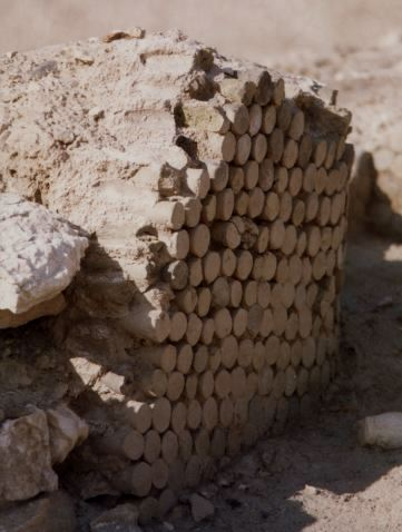 clay cones on facade of the Uruk Temple,  temples, artefacts in museums, items on the black market, all are being destroyed by Islamic Radicals attempting to erase all ancient knowledge contradictory to the teachings of their prophet