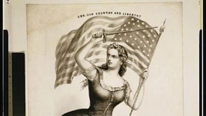 """10c - """"God, Or Country, & Liberty"""", Library of Congress, Prints and Photographs Division takes Inanna very seriously"""