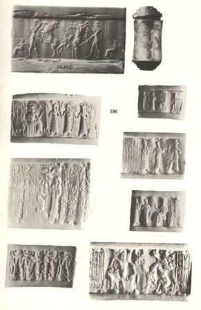 11 - Akkadian seals of gods & kings, unearthed in ancient city ruins in Iraq, Syria, Iran, Turkey, etc. ancient artefacts are being destroyed by Radical Islam, who intends to wipe out all ancient history contradictory to 7th century teachings of their prophet, hundreds of thousands of Mesopotamian texts & artefacts have already been unearthed & exist in museums around the world, including the Vatican Musuem