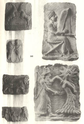 11 - Reliefs from Nippur, Nippur artefacts from thousands of years ago, artefacts like these are being destroyed by Islamic Radicals, trying to eliminate all historical knowledge, prior to, & contradictory to their doctrines