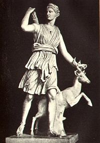 11a - Roman goddess Diana is Bau, Bau was well known & worshipped in Ancient Rome as the goddess Diana, spouse to the great giant god Apollo - Ninurta