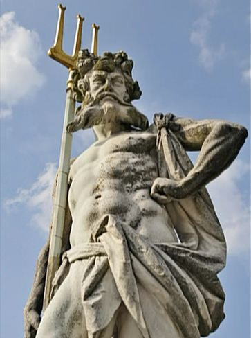12a - Enki - Neptune's trident, Enki was well known & well worshipped in Ancient Rome