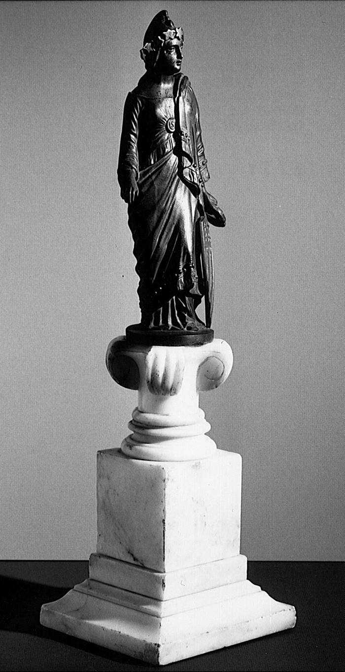 12b - Inanna, original 1850 Statue, Capitol Building with alien giant Inanna / Columbia / Liberty all throughout history, determining all civilizations, governments, & religions