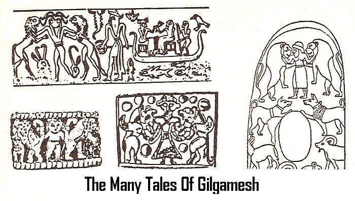 12e - seals of King Gilgamesh, stories told everywhere