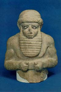13 - Uruk official, artefacts like this are being destroyed by Radical Islam, attempting to elimunate any knowledge of ancient history that contradicts the teachings of their prophet