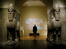 14n - Ashurnasirpal II, Gate of Nimrud, now destroyed by evil, hiding within a false word of god, Radical Islam does not allow for archaeological discoveries, immensely fearing that actual knowledge might be obtained from them, knowledge that depicts their power brokers to be completely wrong, knowledge that could shatter the elite power broker's credibility, & ultimately their strangle-hold held over their followers