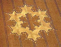 15 - Crop Circle, Nabu's 6-pointed star symbol of Mars, the 6-pointed star, was once Marduk & Nabu's domain of responsibility in shipping gold to Nibiru