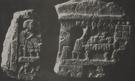 15 - ritual scene in temple of Inanna, Nippur artefact from housands of years ago, artefacts are being destroyed by Islamic Radicals, trying to eliminate all historical knowledge, prior to, & contradictory to the doctrines of their prophet