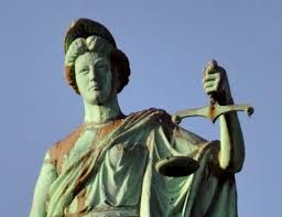15a - goddess Columbia & the heavy scales of justice