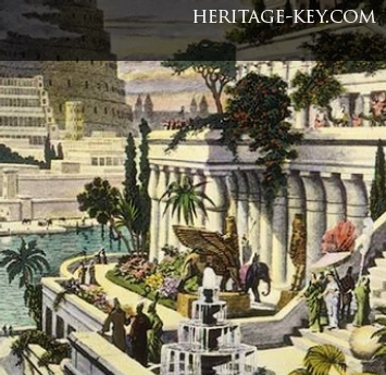 15g - Nebuchadnezzar's hanging gardens, Marduk's Babylonian civilization amazed & overshadowed all other cities & previous empires, he did the exact same thing with Egypt, & perhaps now with America under his grandson Horus