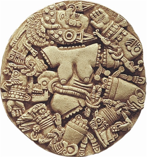 17c - Inanna, Goddess of Love, on an Aztec artefact