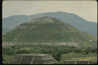 18 - Pyramid of the Sun-Teotihuacan, , Ningishzidda - Quetzalcoatl was the architect-builder of the world's great pyramids & ziggurats, he also aligned things to astrological clocks, & created calanders for earthlings everywhere