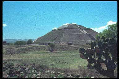 18a - Mayan Pyramid of the Sun - Teotihuacan, Ningishzidda - Quetzalcoatl was the architect-builder of the world's great pyramids & ziggurats, he also aligned things to astrological clocks, & created calanders for earthlings everywhere