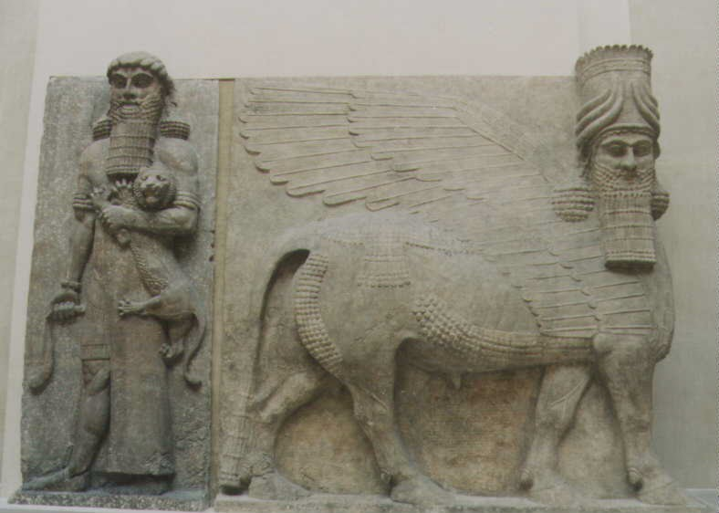 19q - Mesopotamian artefacts of the gods & their mixed-breed kings offspring are shamefully being destroyed by Radical Islam, attempting to eradicate any ancient knowledge that directly contradicts their 7th century teachings, as with all other main religions active today, only Radical Islam destroys them from fear today, but Christians did the same for hundreds of years prior