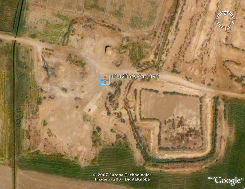 "1a - Isin, Iraq, areal view of Isin, Bau's throne city, where she was the doctor for gods & the ""black-headed"" earthlings"