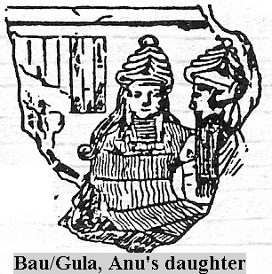 1b - Bau & Ninurta - Ninurta's spouse, Bau was in with the 1st generation of powerful gods fathered by King Anu to colonize Earth