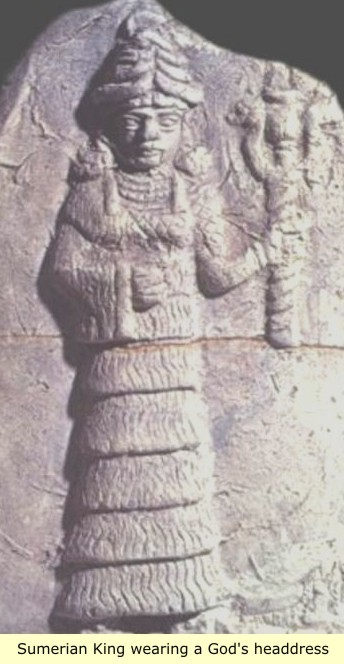 1b - Inanna with Liberty Torch from thousands of years B.C.