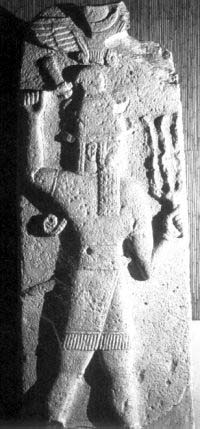 1b - Teshub with his divine weapons, flying disc symbol of planet Nibiru, the planet that flys by the outside of Mars every 3,600 years, Adad was known all over the world as the thunder god, he, like all the gods, had many different names in many different cultures, all over the world for thousands of years