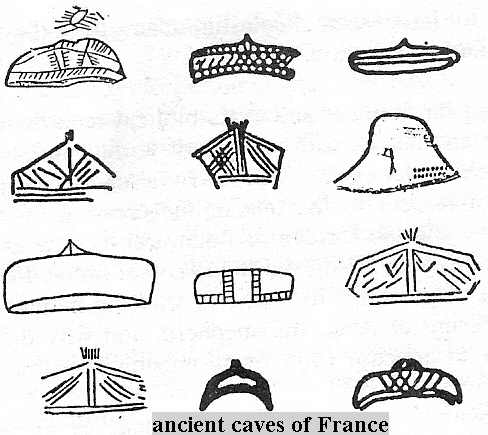 1c - giant alien gods vessels depicted many ways in ancient caves of France, early mankind so amazed at the scenes they saw, that they tried to copy them down as records, once eye-witnessed by earthlings