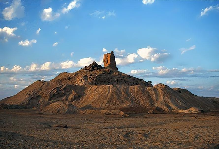 1d - mud brick-built mountain ziggurat -  home of Nabu, the place of Marduk's Tower of Babel, Enlil & his descendants destroyed the Tower of Babel, refusing to allow Marduk to build his own launch site, starting another war between the aliens with earthlings dying in the middle