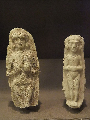 1ua - Inanna, Amorite figurine artefact, Inanna was well known & well worshipped by early earthlings in every civilization on Earth, & is now hidden in plain sight today by secret societies, sworn to silence
