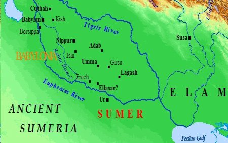 """1y - Ancient Sumeria, the 1st cities on Earth, Enlil resided in Nippur, the """"Bond Heaven & Earth"""", Command Center for the alien Anunnaki giants"""