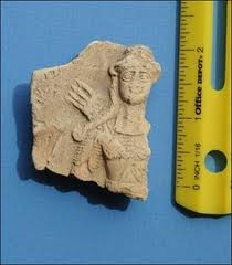 2 -  tiny artefact of the Goddess of Love & War, Inanna
