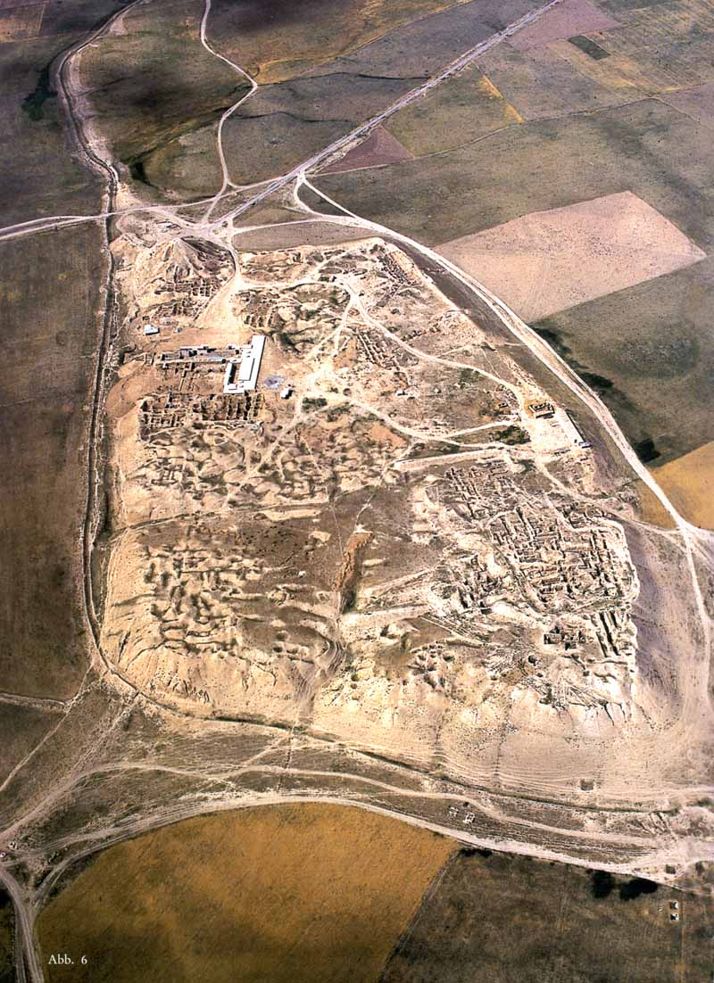2 - Nimrud ariel view, important city of Ninurta's, now destroyed by Islamist Radicals, eliminating ancient knowledge, forbidding Muslims to question their teachings