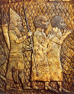 20e - artefact of Assyrian King Sennacherib's captured Jews from Lachish, these Jews were brutally killed, tortured, enslaved, etc., such was not the custom, but usually the order given the kings by the gods, caring little for earthlings behalf, early earthlings did not hold their beliefs in gods through faith like today, they lived amongst the gods, they witnessed the gods with their king standing before the alien giants, faith was never used as a factor for gods relating to earthlings