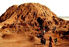 2aa - Assur the city & Ashur's brick-built mountain - house - temple, standing for tens of thousands of years, destroyed & rebuilt many times, buried by time, & re-discovered by knowledge seekers, finding lots of artefacts from olden days long forgotten